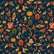 Foxy Fall { Navy }
