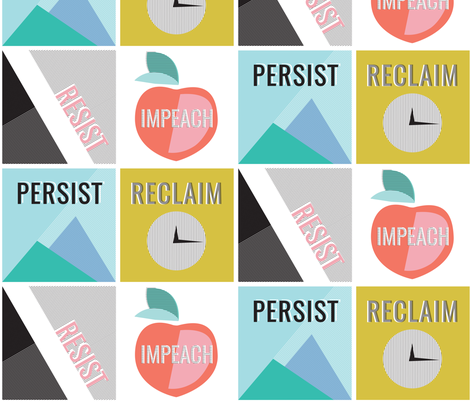 Persist  fabric by thelongthread on Spoonflower - custom fabric