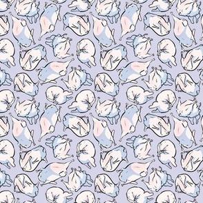 Frenchie Tumbling - lavender