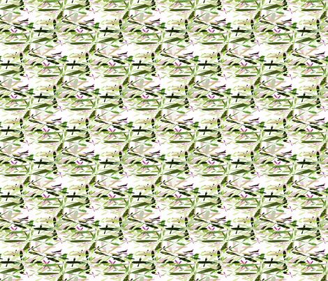 Helio Green Flyers fabric by barbarapritchard on Spoonflower - custom fabric