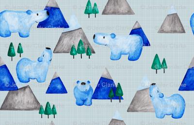 Bears - blue