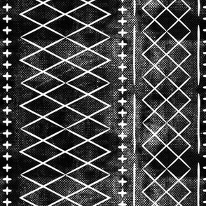 flint vintage moroccan (med scale) on black