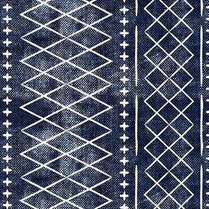 flint vintage moroccan (med scale) on blue