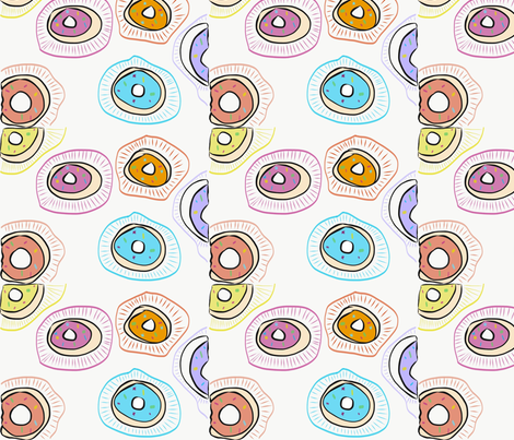 DONNUTS fabric by brendamarguet on Spoonflower - custom fabric