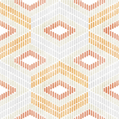 Diamond in Orange