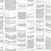 Modern Birch in Gray