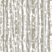 Abstract Birch in Tan and Gray