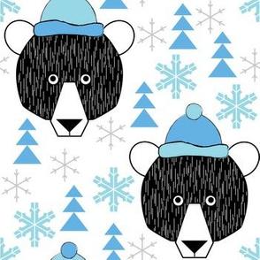 winter camp bears