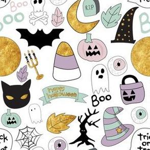 "6"" Pastel Halloween"