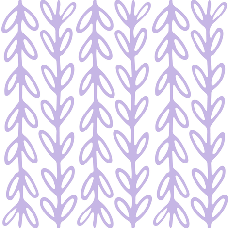 SPG-F_0018_LavenderVines_onWhite fabric by sandpipergfx on Spoonflower - custom fabric