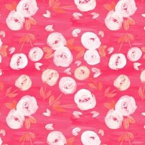 Moody Pink Floral