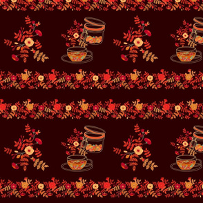 Teatowels autumn print