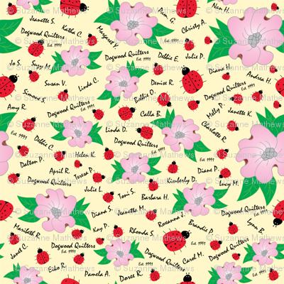 Dreaming Ladybugs and Dogwood Flowers