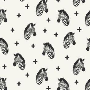 (small scale) zebras