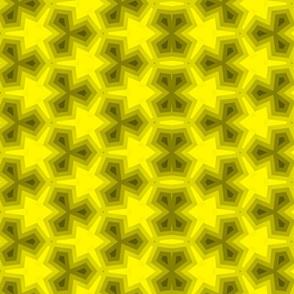 Retro Atomic Black and Yellow