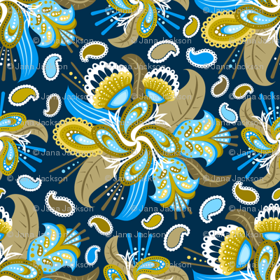 Painted Paisley (2)