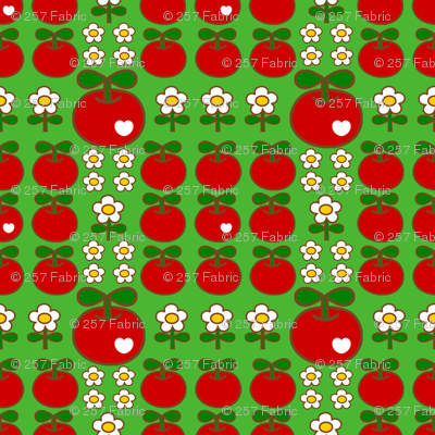 apple love_green