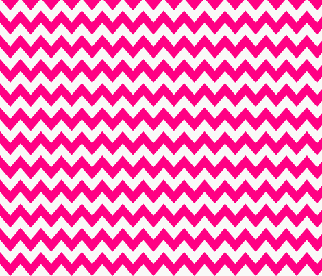 chevron_pattern__hot_pink fabric by possumspatch on Spoonflower - custom fabric