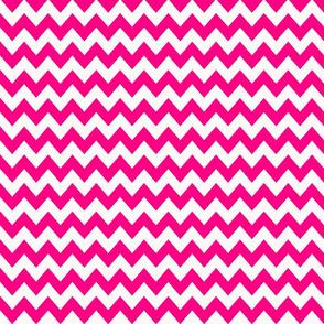 chevron_pattern__hot_pink