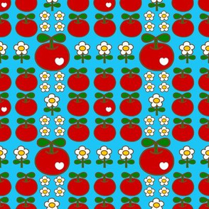 apple love_skyblue