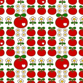 apple love_white&red