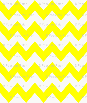 chevron_pattern_yellow