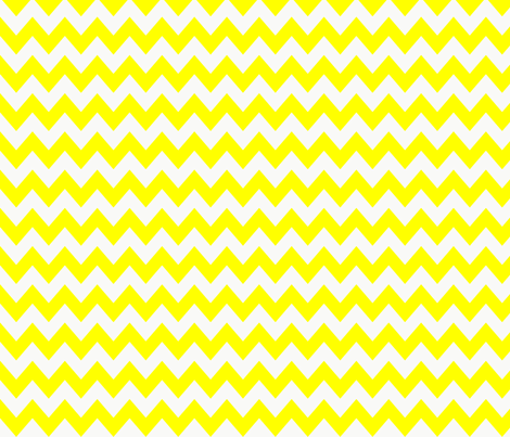 chevron_pattern_yellow fabric by possumspatch on Spoonflower - custom fabric