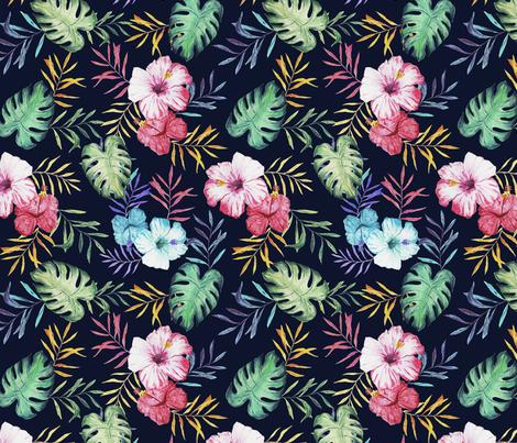 Tropical Print Wallpaper Designed By Ilosdesign
