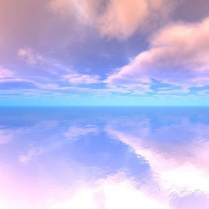 Sky Reflections on Water 2