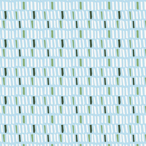 Little Monster Blocks - Light Blue