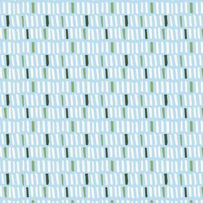 Little Monster Blocks - Light Blue
