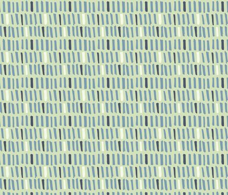 Little Monster Blocks - Light Green fabric by scarlette_soleil on Spoonflower - custom fabric