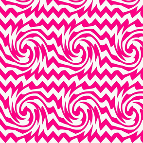 triple_whirl_and_pinch_pattern_hot_pink