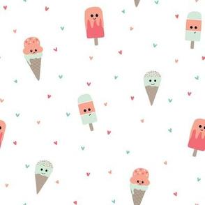 Kristin Nicole Ice Cream Cones and Popsicles