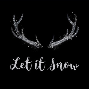 18x18 Let it snow pillow