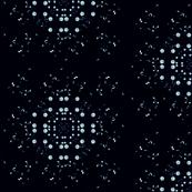 Denim Constellations on Black