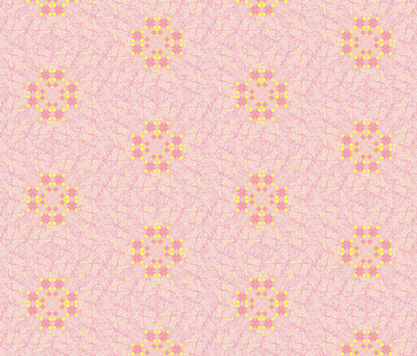 Pink Constellation fabric by twigsandblossoms on Spoonflower - custom fabric