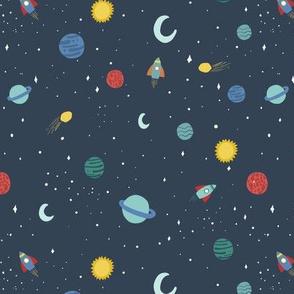 Kristin Nicole Space Mini Planets