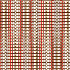 Hay June - abstract arrow stripe wave