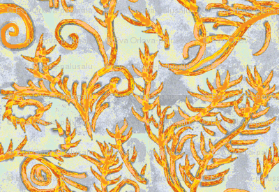 Royalty Halloween Abstract Pattern