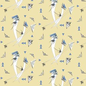 Mod Kite Motion Lemon