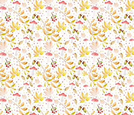 Rustic-Fall fabric by bees_that_buzz on Spoonflower - custom fabric