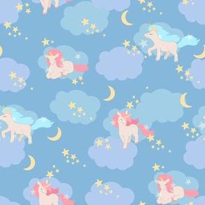 Clouds Stars and Unicorns