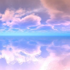 Sky Reflections on Ocean