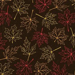 Leaf Pile (Outline)