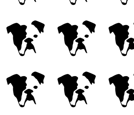 Bulldog fabric by mariafaithgarcia on Spoonflower - custom fabric