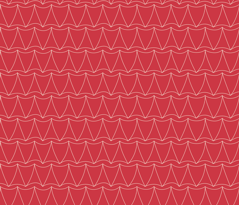 Floridian Trilaterals (Hot) fabric by brendazapotosky on Spoonflower - custom fabric