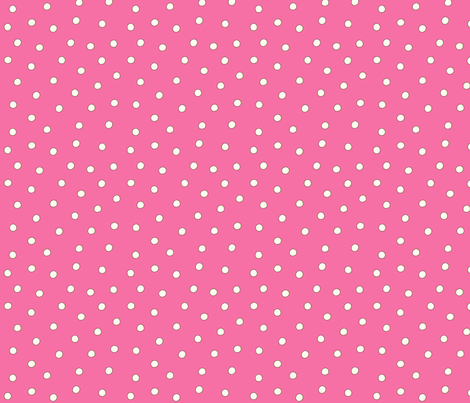 White Pearl Dots on Pink fabric by phyllisdobbs on Spoonflower - custom fabric