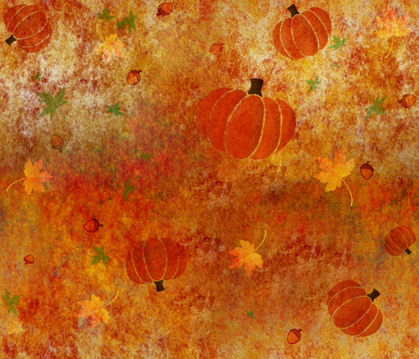 Rusty Harvest fabric by arwen_and_moose on Spoonflower - custom fabric