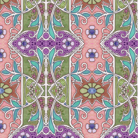 Song of the Spring fabric by edsel2084 on Spoonflower - custom fabric
